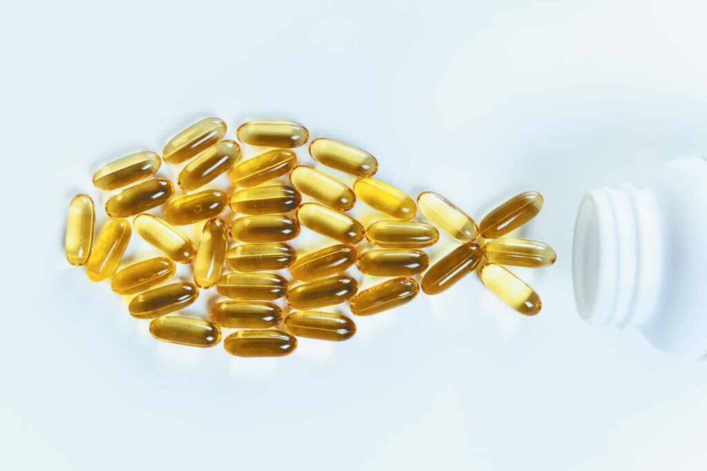 Healthy benefits of fish oil
