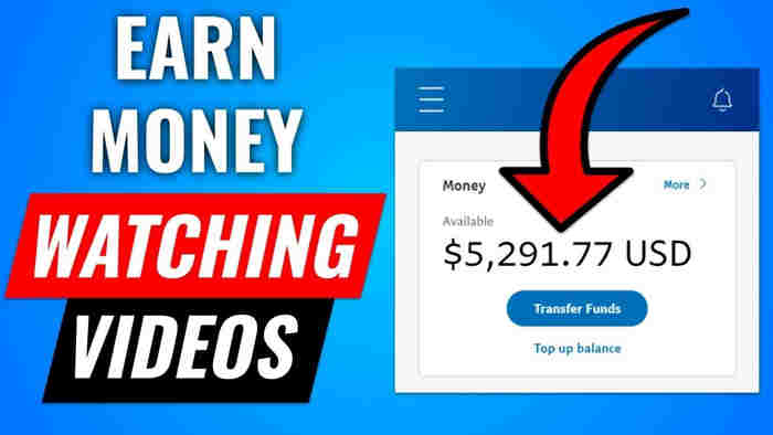 earn money by watching video